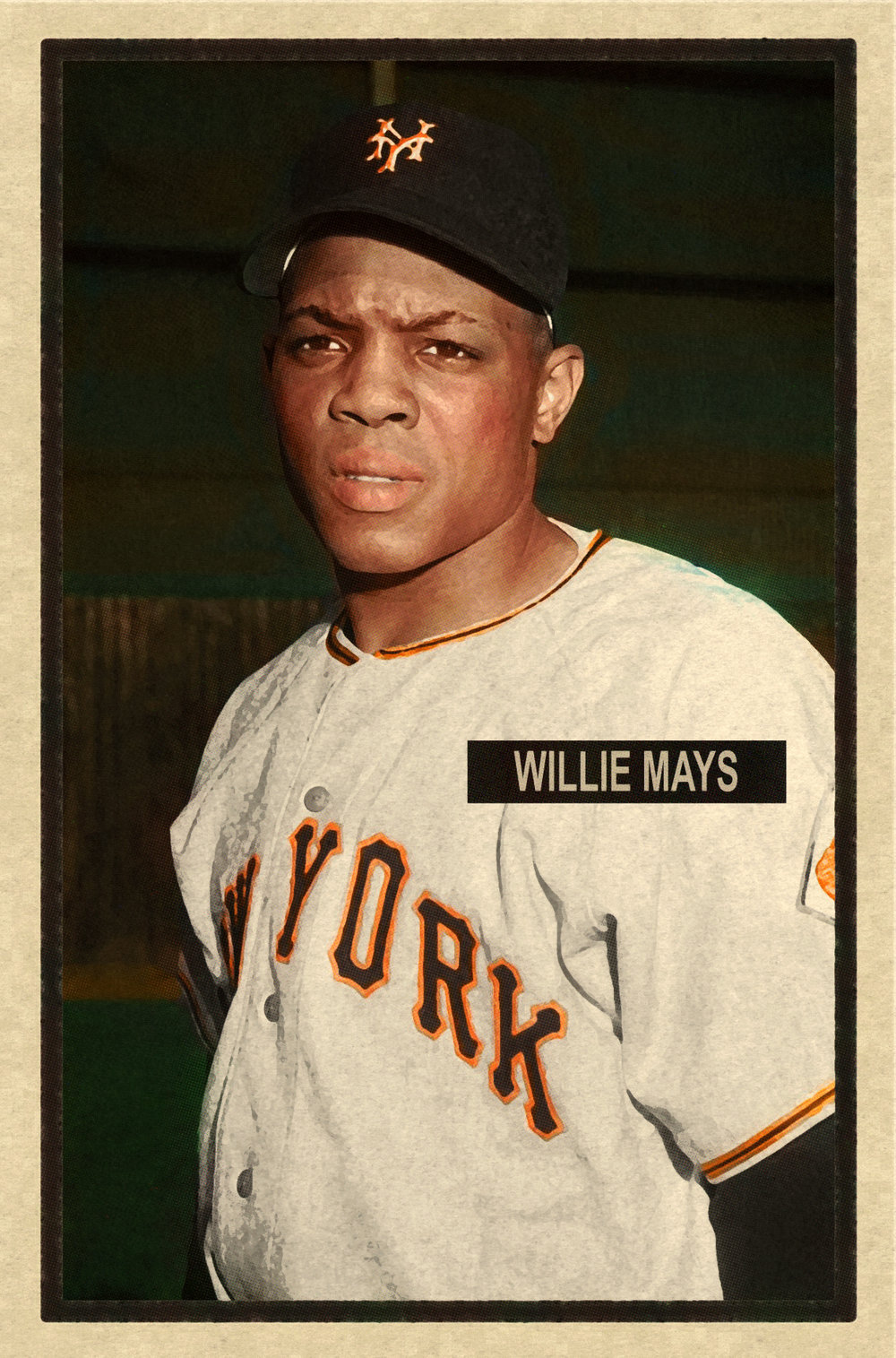 1951 BASEBALL STARS SERIES #20 WILLIE MAYS 2/13/17 Auction Closes at $135.50 USD - Current Poulation of 1