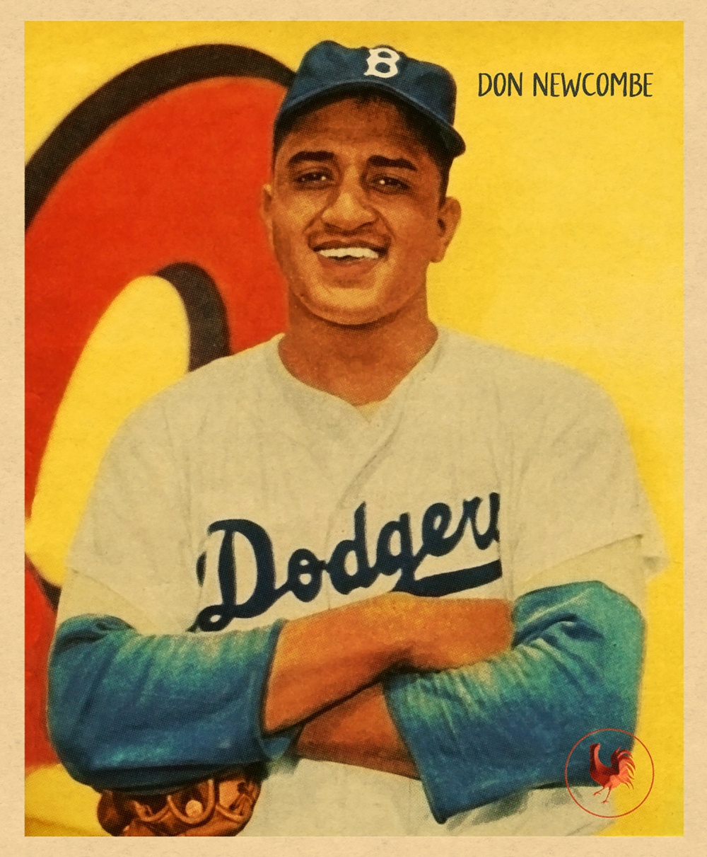 1950 R319 SERIES - DON NEWCOMBE (RC)  4/3/17 Auction Closes at 111.50 USD - Current Population of 1