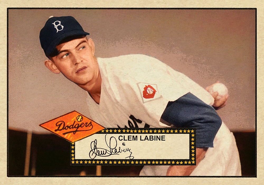 1952 BANTY RED BASEBALL STARS SERIES #18 CLEM LABINE 3/13/17 Auction Closes at 155.50 USD - Current Population of 1