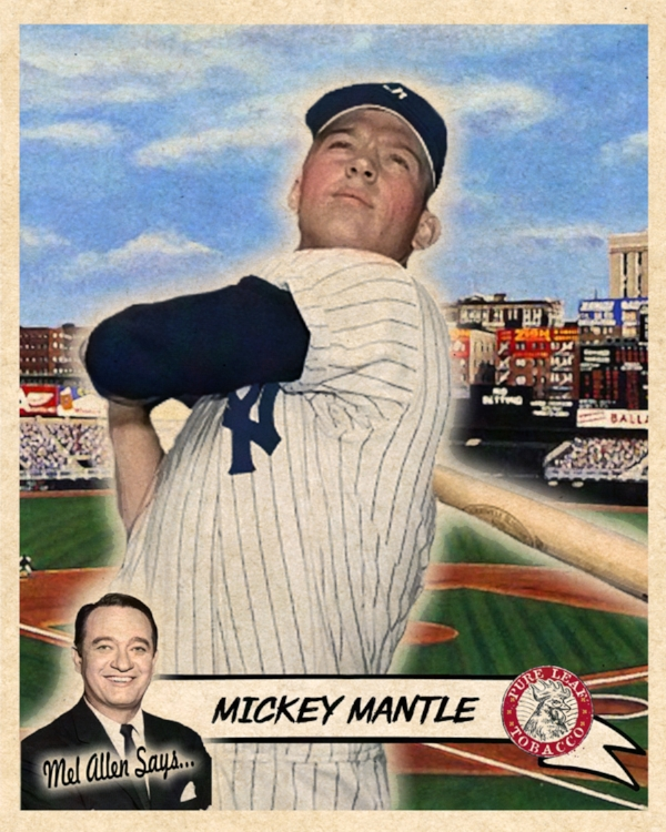 Capital Of Baseball Series MICKEY MANTLE (Action) 11/13/17 Auction Closes at 299.50USD - Current Population of 3