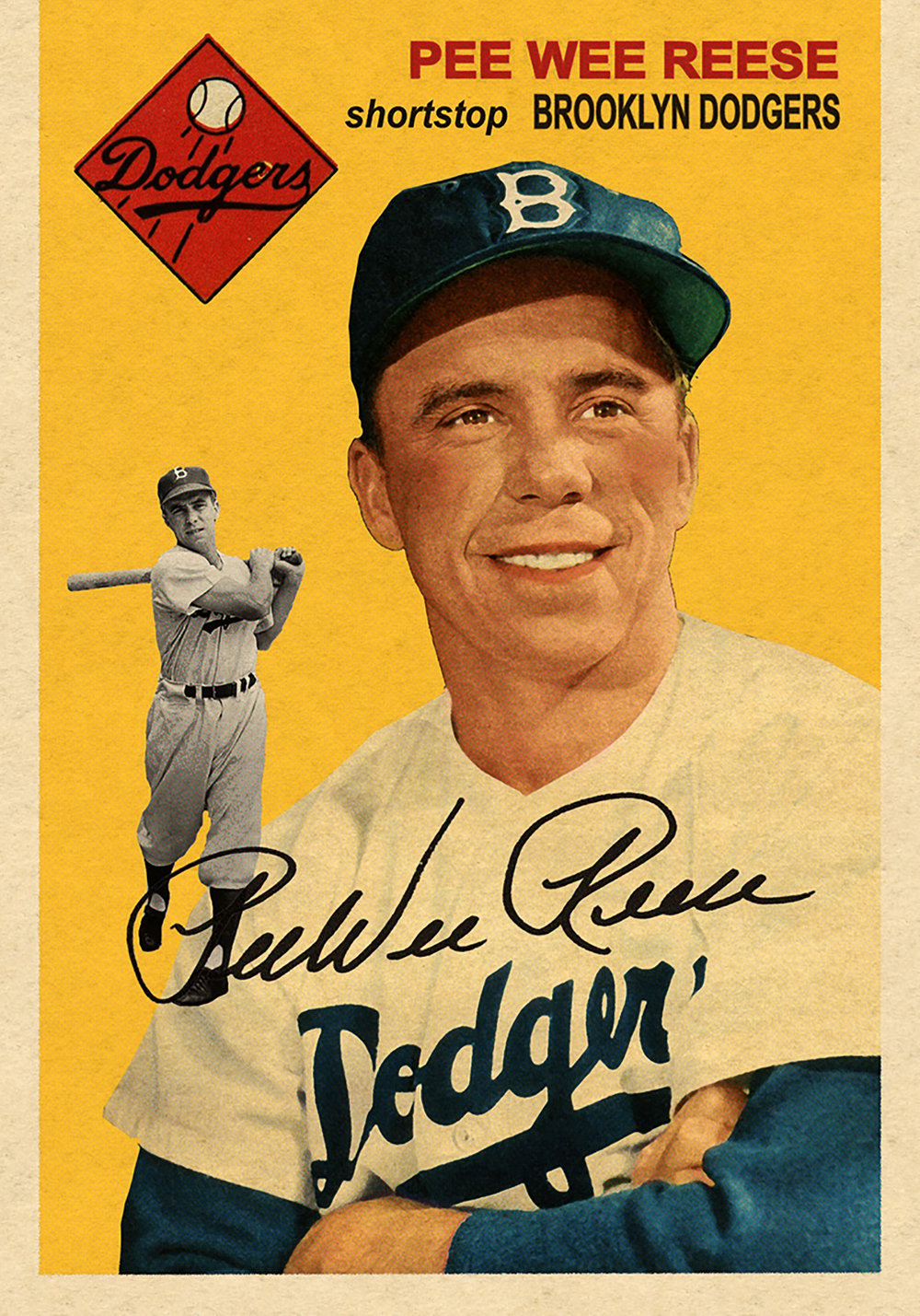 Lost Fifty-Fours PEE WEE REESE  -