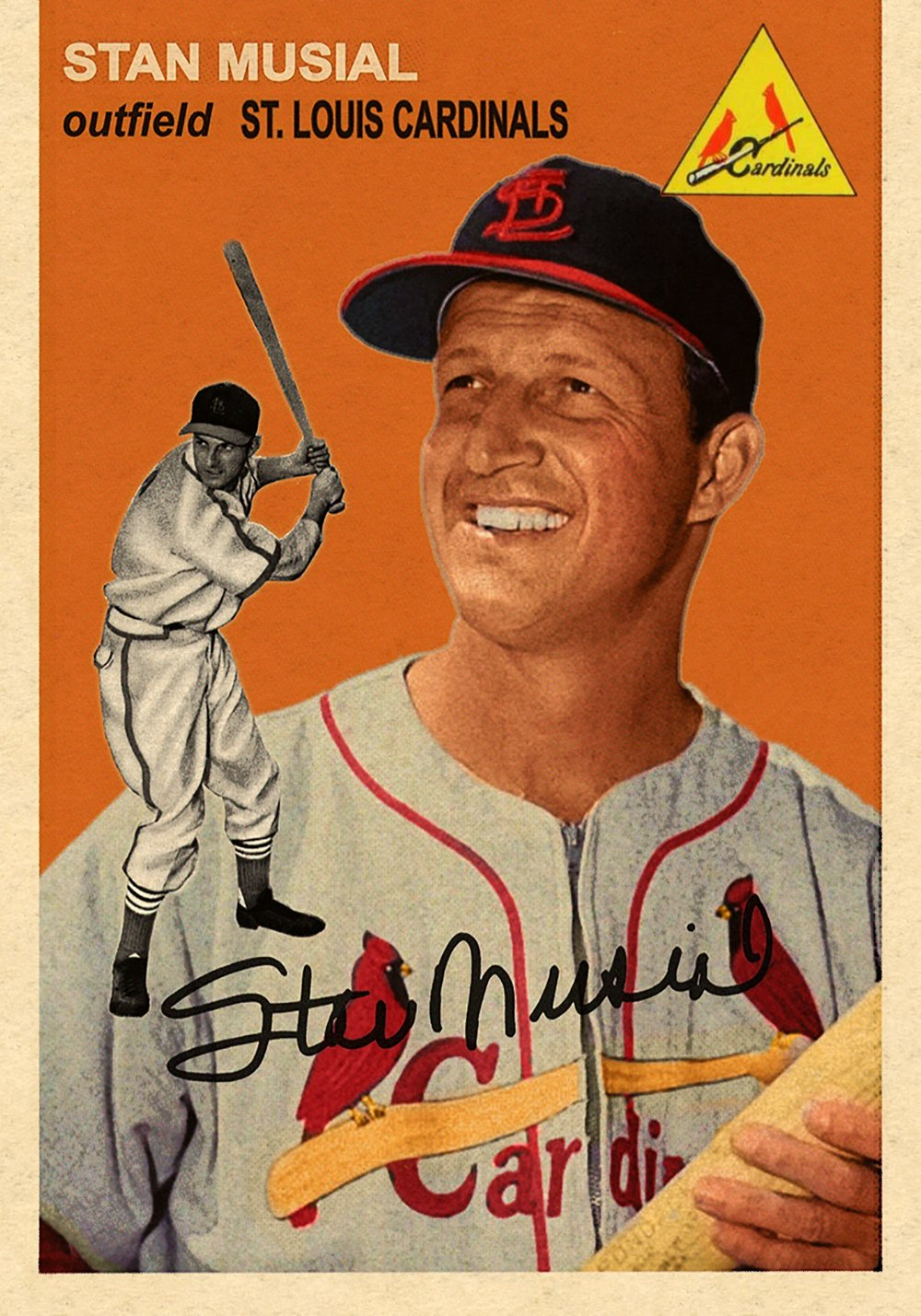 Lost Fifty-Fours STAN MUSIAL - From our popular