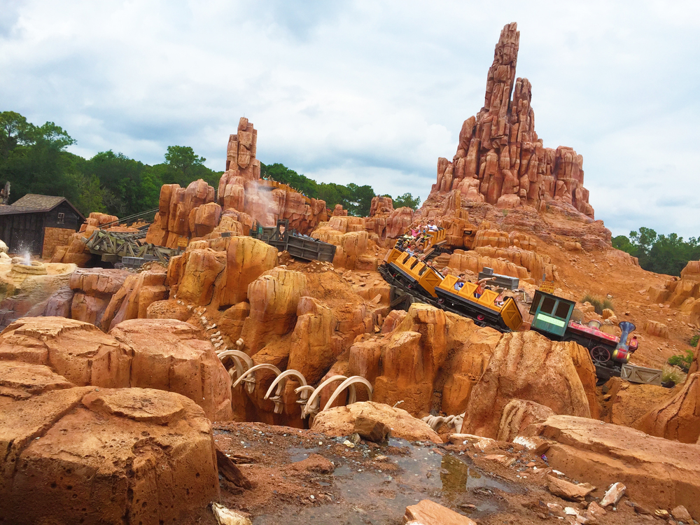 Big Thunder Mountain Railroad ride which was by the way, is awesome sauce!