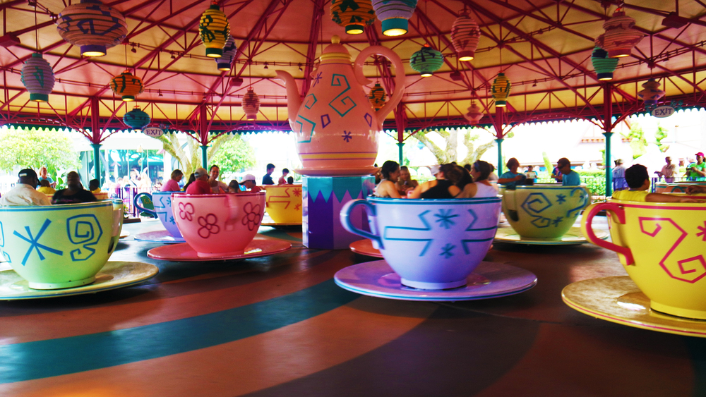The tea cups were amongst my favorite!