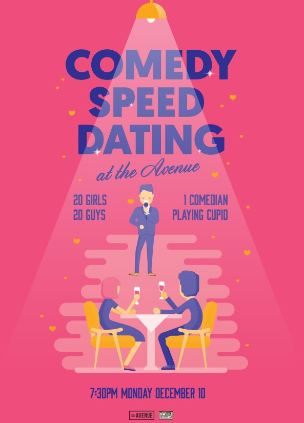 comedy festival speed dating