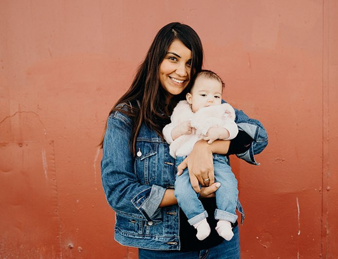 Here's my favorite mommy blogger with the cutest dang babyyyyy aka Camilla. Click to see more preciousness on IG.