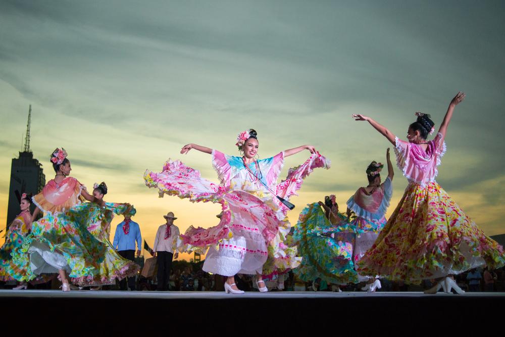 Baile tradicional de Nuevo León.