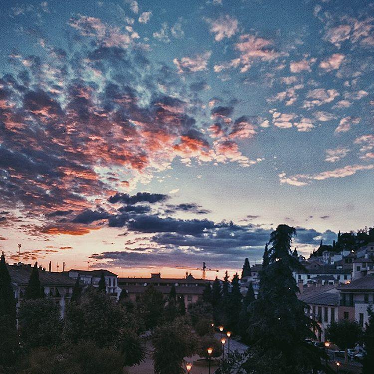 Perfect autumn nights! #pinterest #autumn #sunset