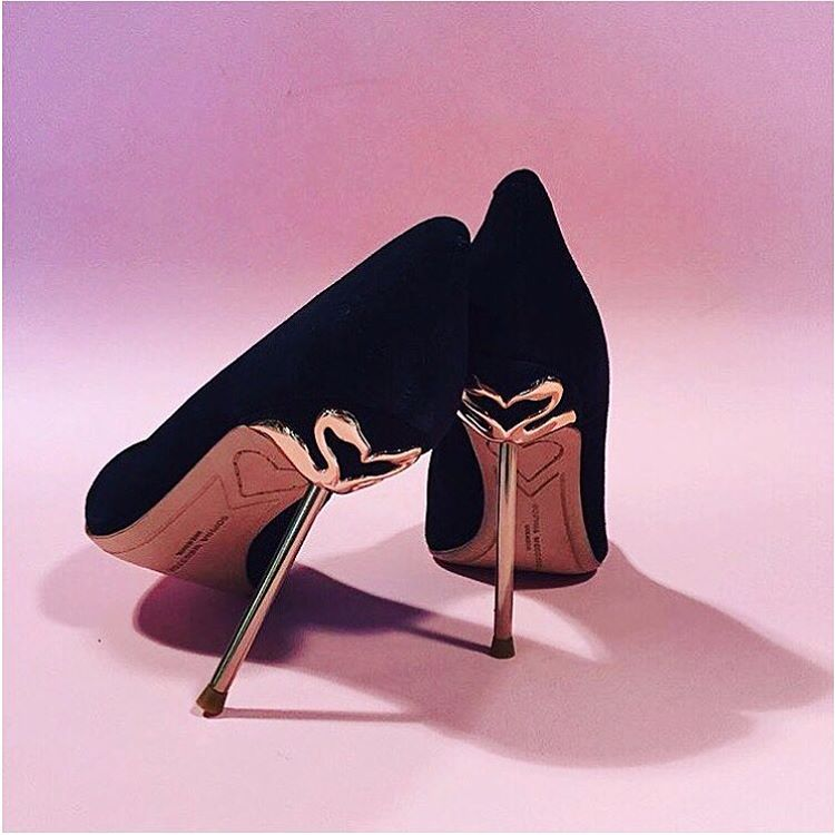 Classics with a twist || @sophiawebster 'Coco' pumps, in store and online now. #sophiawebster #classic #shoe #sotd