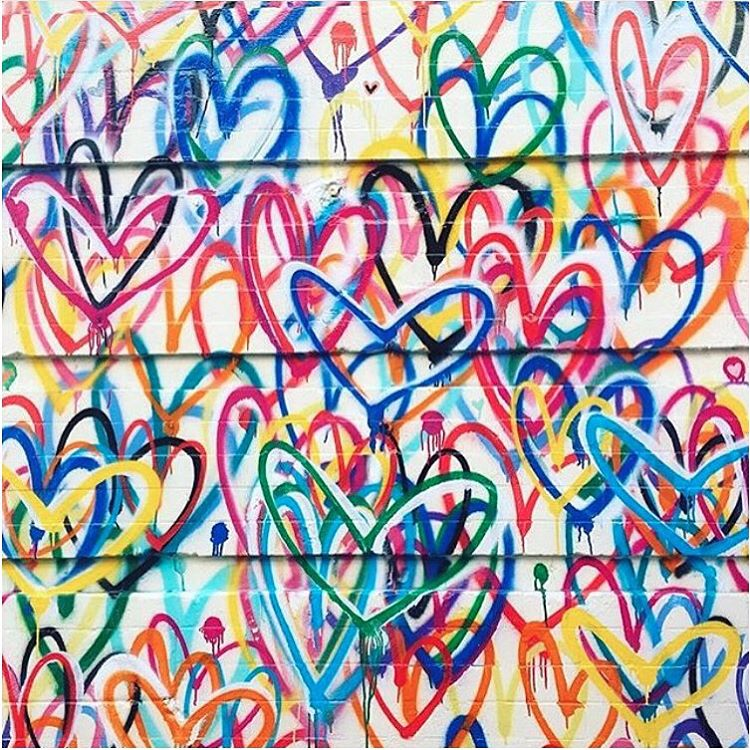 Sending love on this beautiful Sunday. Straight from the streets of #NYC! #streetart #sunday #weekend #love