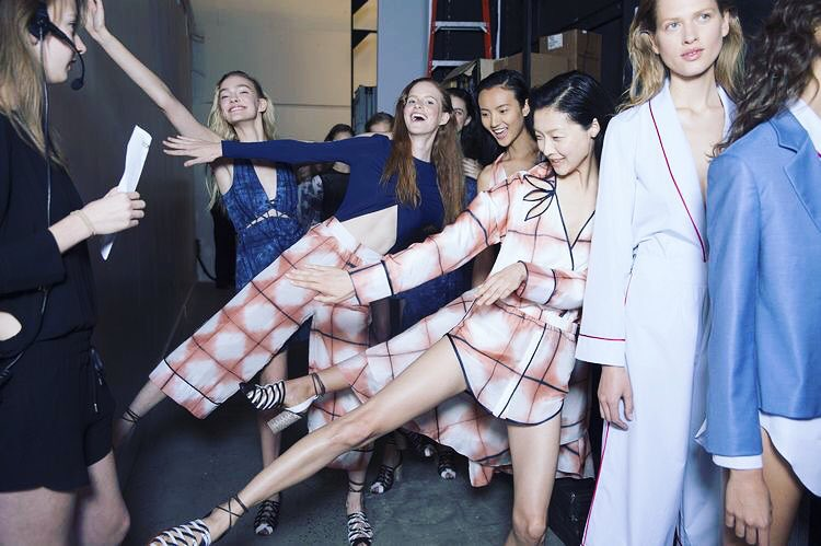 It's been fun! #fashionmonth #nyc #london #paris @thakoonny #SS16 We can't wait! 📷 Kevin Tachman