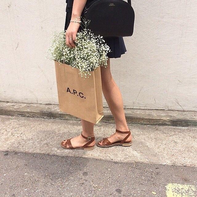 APC & fleurs 🌾 Spring is in the air