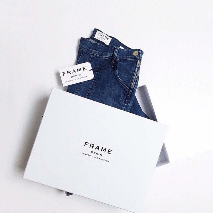 Friday's are even better when you have the perfect pair of jeans #new #framedenim #LeFlareDeFrancoise @frame_denim (at GRACE boutique)