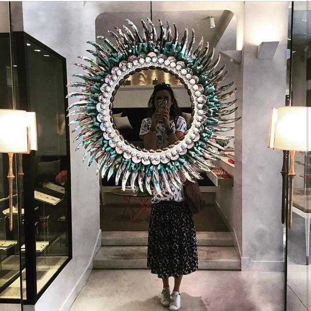 Stunning details at NYC @aureliebidermann boutique 💙 #rg from our gorgeous Grace buyers #aureliebidermann #nyc