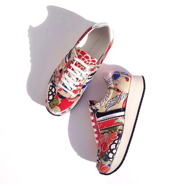Carven steps. Only a few pairs left of these super sneakers! @carven_paris #gracemelbourne