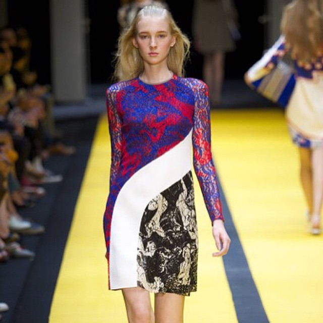 We fall for #Carven's divine lace pieces every single season. This beautiful collection is no exception! Shop looks straight from the runway online now. #gracemelbourne #runway #model #shop (at www.gracemelbourne.com)