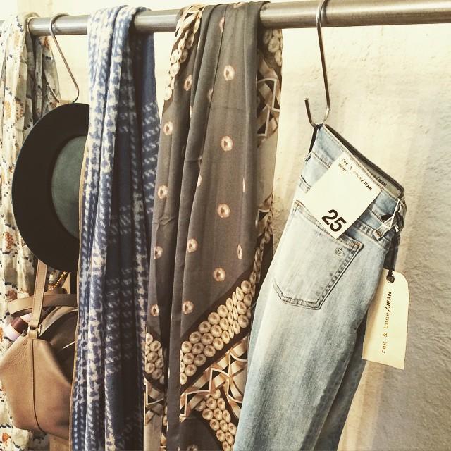 Living the denim dream. The MOST perfect new wash by @rag_bone. #ragandbone #denim #gracemelbourne (at GRACE boutique)
