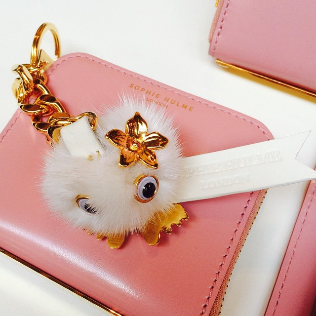 There's a new gal on the block! Meet Dot: one of our newest and cutest Sophie Hulme Pom Pom keychains! Pop her on your bag, wallet or keys and she'll go everywhere with you. Shop Dot and her friends online now! (at  www.gracemelbourne.com )
