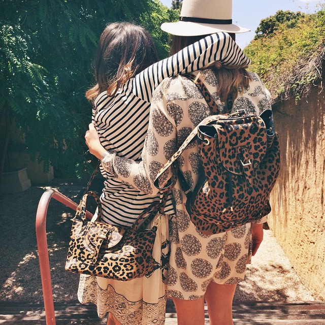 Happy Monday! A flashback to sunnier days… Gorgeous gals trying out our new leopard print @melimelobags! Instore and online now (get in quick before we decide to keep them all ourselves!) #melimelo #bags #gracegirls #summer #leopard #gracemelbourne (at www.gracemelbourne.com)