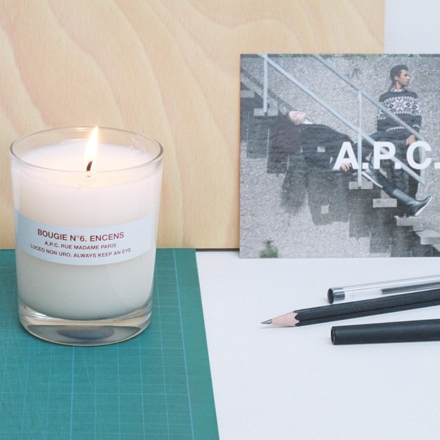 The perfect way to start the week: #Monday mornings with @apc_paris candles. Online and instore ✨ www.gracemelbourne.com #home #candle #gracemelbourne #apc #paris (at GRACE boutique)