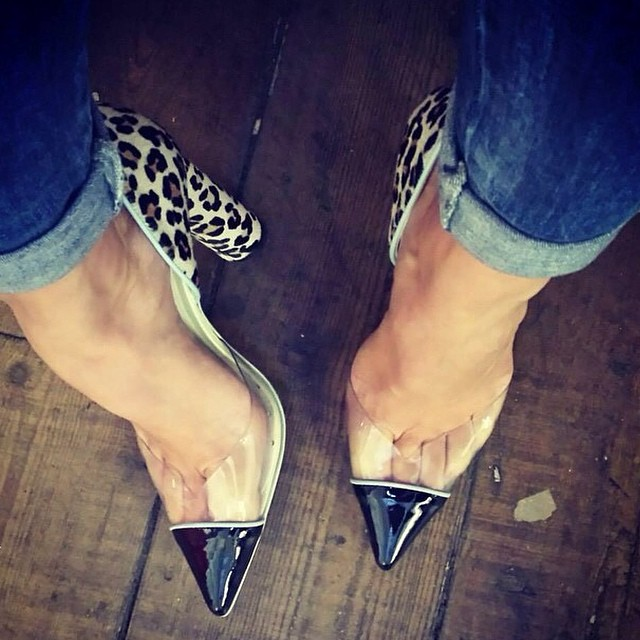 RG @sophiawebster_: One of our fave (and best selling!) shoe styles, the 'Jessica' in leopard. Perfect for a stunning sunny day like this! Online and instore now. #sophiawebster #shoes #gracemelbourne #heels #leopard (at www.gracemelbourne.com)