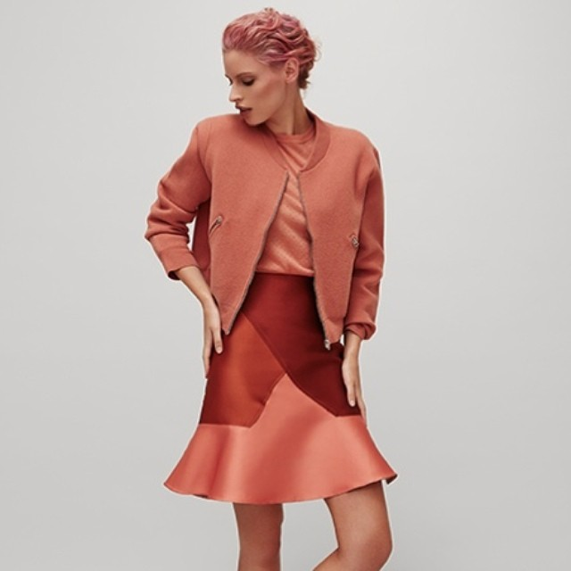 LOVE Broadsheet's latest fashion feature, featuring our favourite peachy skirt by  ostwaldhelgason Just too beautiful!