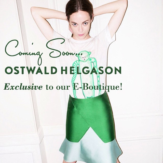 Introducing…Ostwald Helgason! Exclusive to our E-Boutique, this incredible London based label is already loved by street style icons the world over. We're so excited to share it with you! www.gracemelbourne.com