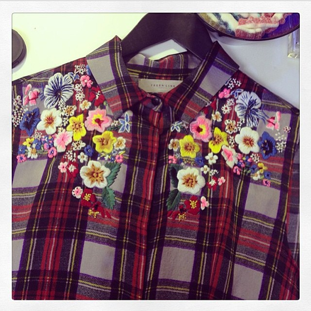 A sneak peek at this beyond amazing Preen Line SS14 shirt! Arriving at Grace at the beginning of next year. Email care@gracemelbourne.com for wait list.