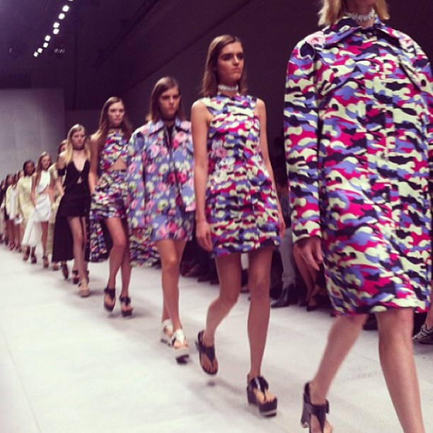 First look: Carven on the runway!