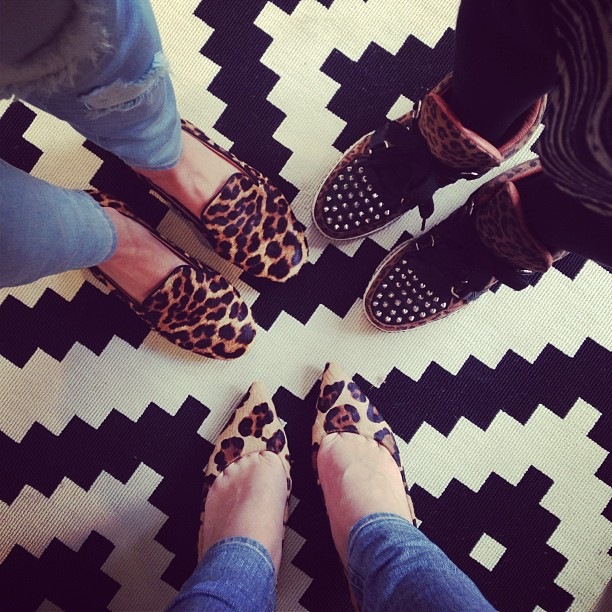 On Fridays, we wear leopard.