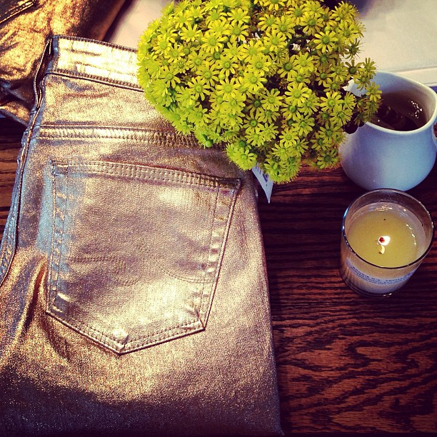 All that glitters… New AG skinnies are in store to brighten up your Monday!