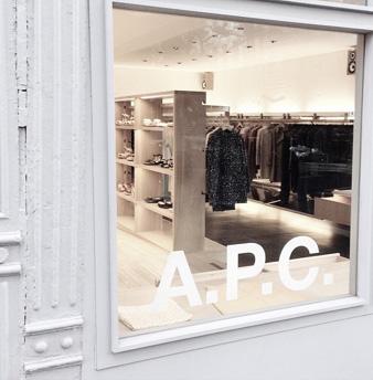 apcofficial: A.P.C. store via http://instagram.com/konseptk#