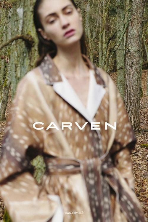 Carven's FW13 Campaign