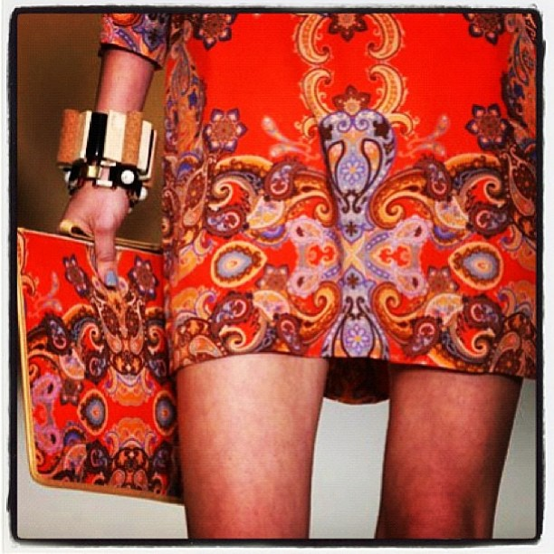#Beautiful @secret_south details. We love this print! Available online now at www.gracemelbourne.com #secretsouth #runway #fashion #love #print #style
