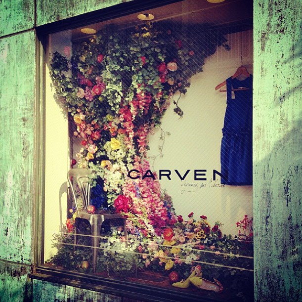 Stunning Carven windows - floral perfection!