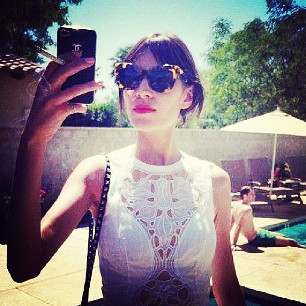 Alexa Chung does Carven… Oh my!