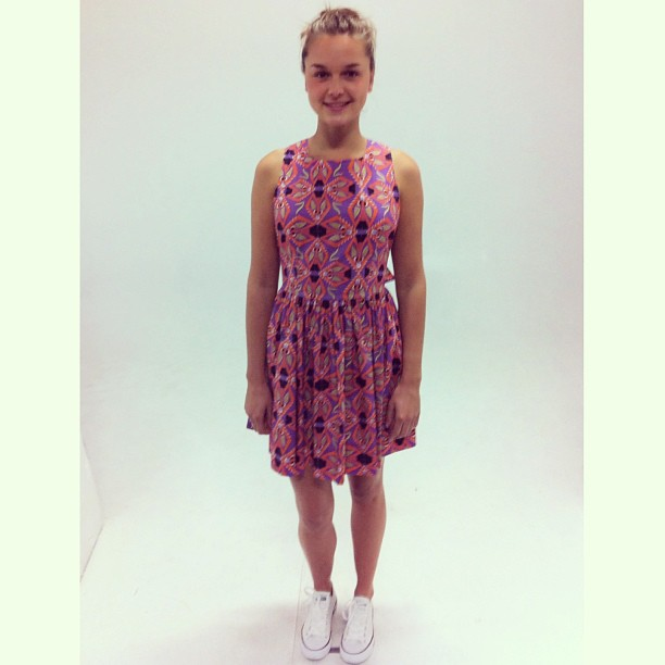 MSGM + Converse - the perfect pair! Gorgeous Sarah at the Grace Online shoot!