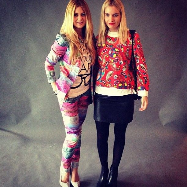 Tessa from Circa Now lookin' good in our MSGM paisley sweatshirt