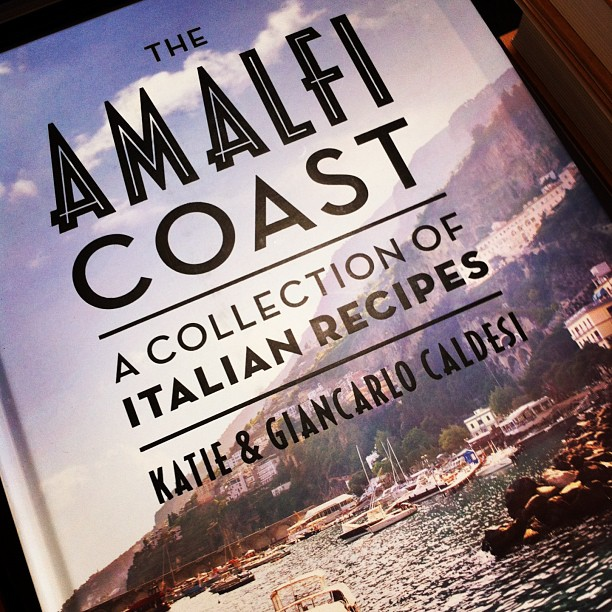 Dreaming of a holiday now the weather has turned cold? The 'Amalfi Coast' cookbook is the next best thing! Full of delicious Italian recipes and beautiful images!