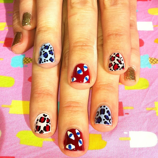 I Scream Nails at Grace!  So many designs to choose from, too beautiful.