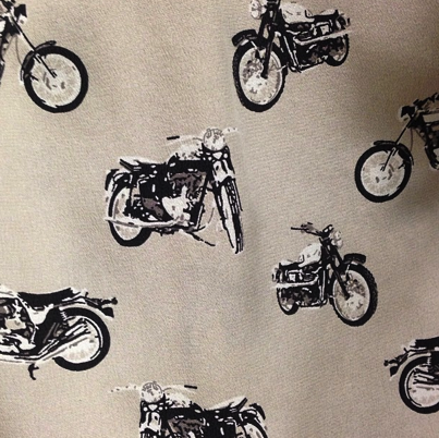 Biker girls, look out… Coming soon, the coolest new Equipment print!
