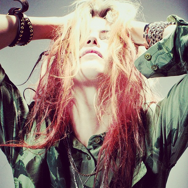 Doesn't get much cooler than The Kills' Alison Mosshart!