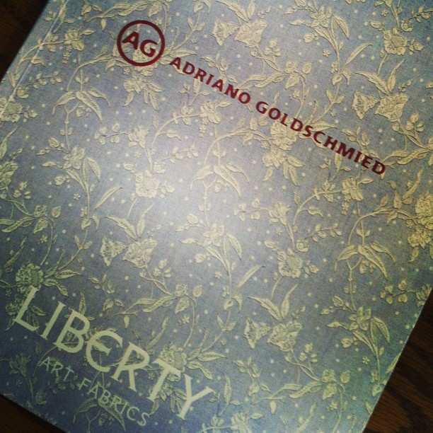 We're pretty excited about this… AG x Liberty yessssss!! In-store at Grace next week!