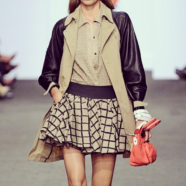 Straight from the runway: Rag & Bone's too cute 'Daisy' skirt!