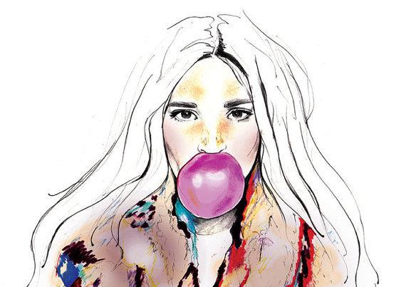 Too pretty - by Aussie artist Sarah Hankinson
