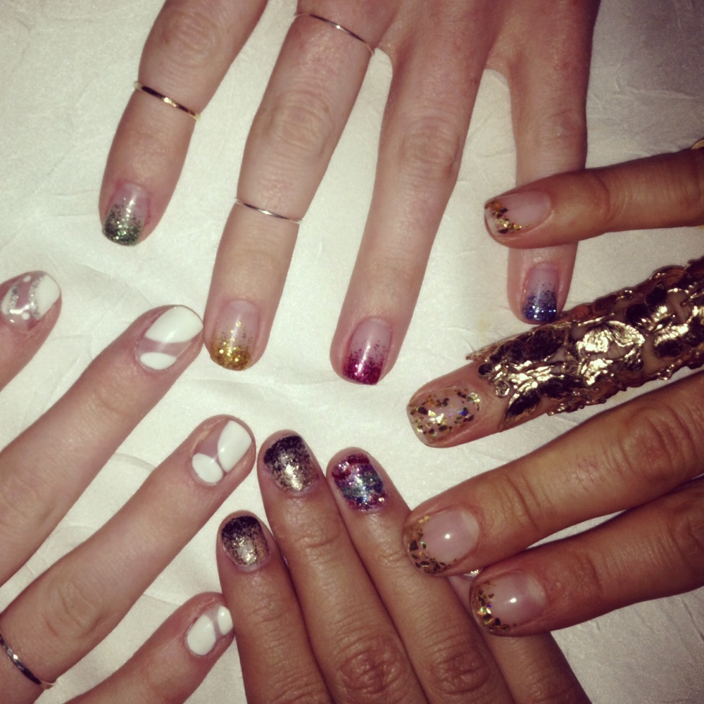 Another holiday snap: The most amazing nail art!