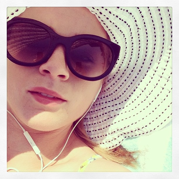 Regram: We love this pic of the totally gorgeous Emma Freedman in her Thierry Lasry 'Lively' sunnies!