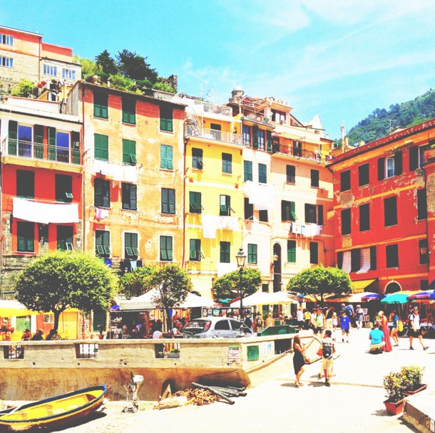 Holiday destination inspiration… Italy's Cinque Terre, found on We are Handsome's instagram!