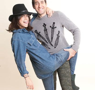 We love rag & bone's cute article on 'The Man Repeller and Her Man'!  Check it out HERE… we wish our boys would let us them up dress them like this!