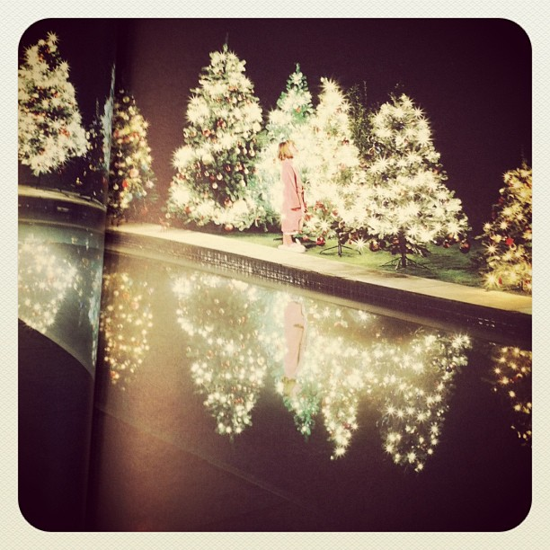 Only 8 days til Christmas! How gorgeous (and fitting!) is this image from the stunning book 'POOLS' by Kelly Klein!